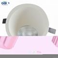 8W 85-265VAC 800lm LED COB Downlight Recessed Lighting 3