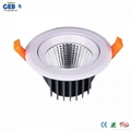 25 Beam Angle 10W LED Downlight Kit with Honglitronic Packaged COB Chip 3