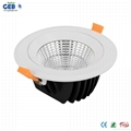 25 Beam Angle 10W LED Downlight Kit with