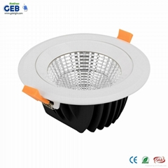 25 Beam Angle 10W LED Downlight Kit with Honglitronic Packaged COB Chip