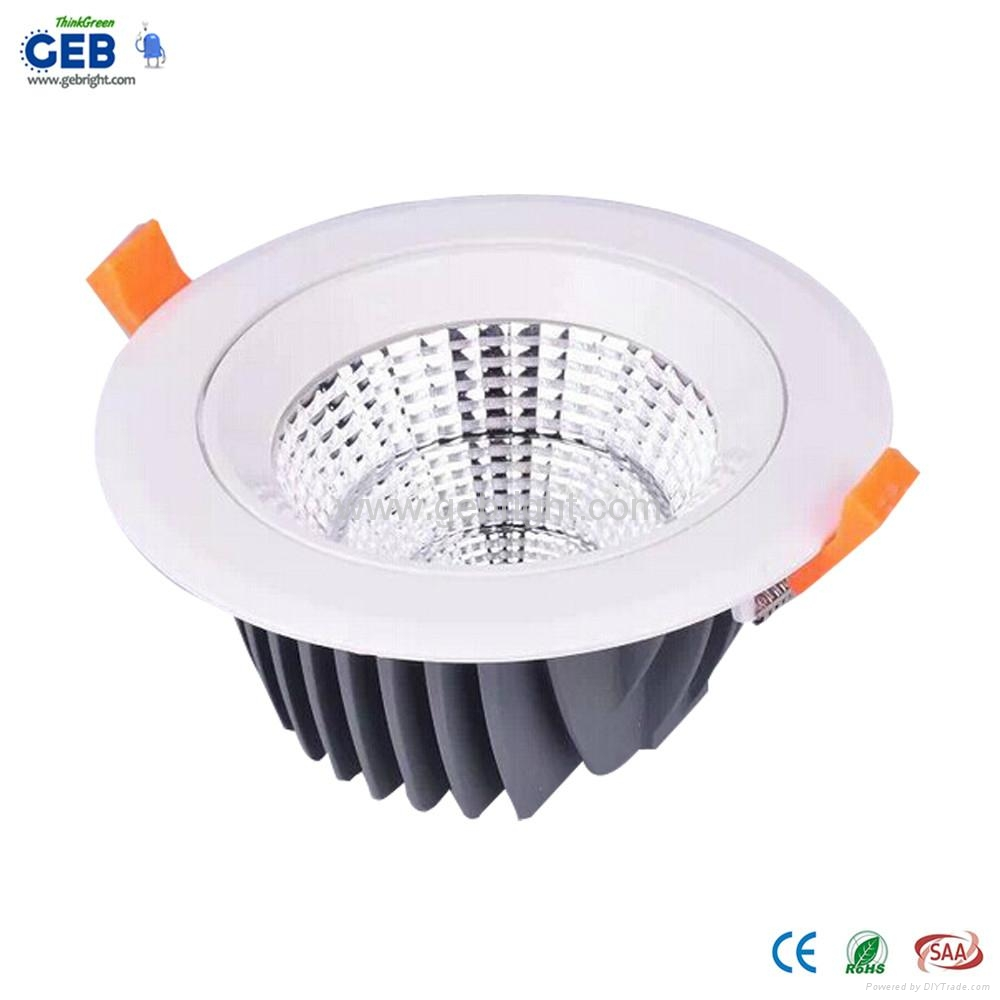 25 Beam Angle 10W LED Downlight Kit with Honglitronic Packaged COB Chip 2