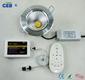 Dual White COB Downlight Dimmable Controlled by Android/iPhone APP 4