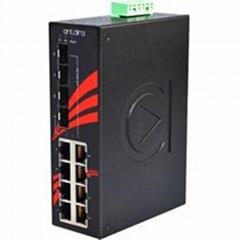 LNX-1204G-SFP(12-Port Industrial Gigabit Unmanaged Ethernet Switch)