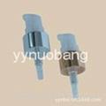 20/410 Metal shiny golden treatment pump