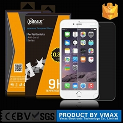 Best Price ! Ultra Thin 2.5D 9H Vmax Tempered glass screen protector for iPhone
