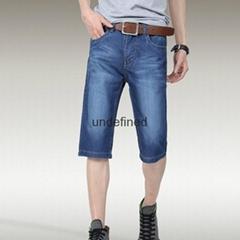 男士牛仔中裤