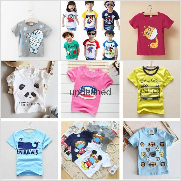 童装短袖t恤 5