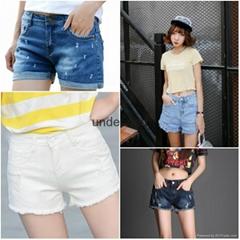 夏季女裝牛仔短褲