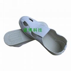 PVC四眼鞋