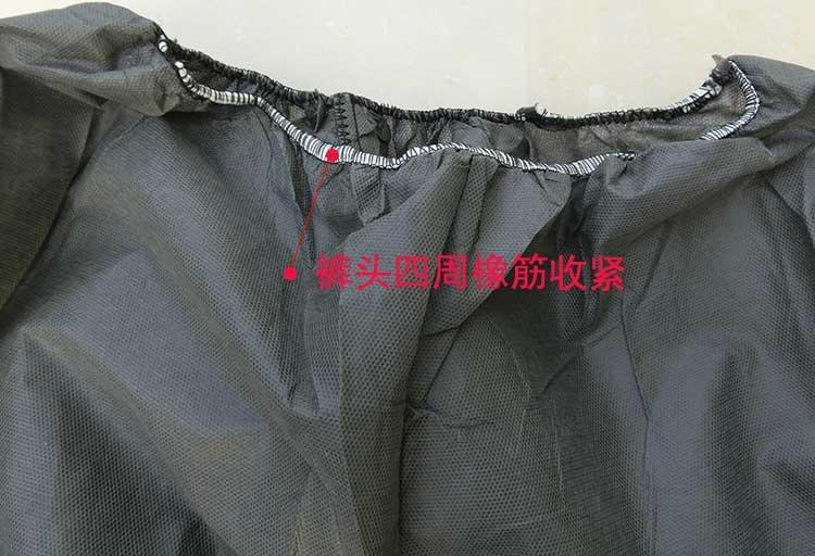 加厚一次性无纺布分体式防护服 1
