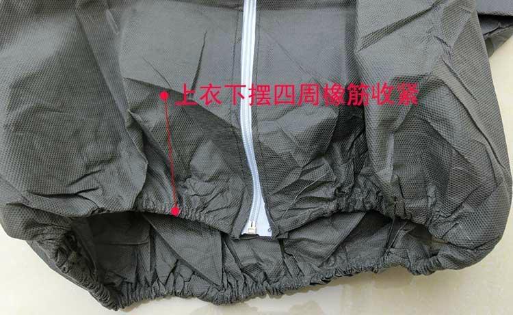 加厚一次性无纺布分体式防护服 2