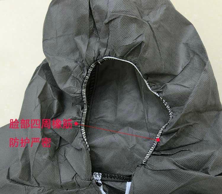 加厚一次性无纺布分体式防护服 3