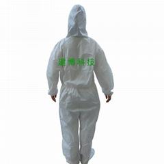 供應一次性防水防油污衣服