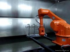 東莞塘廈噴塗機器人
