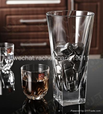 Stainless steel ice cube ice stone 2