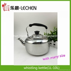 Stainless Steel Whistling Kettle Water Kettle Tea Pot 1L-10L