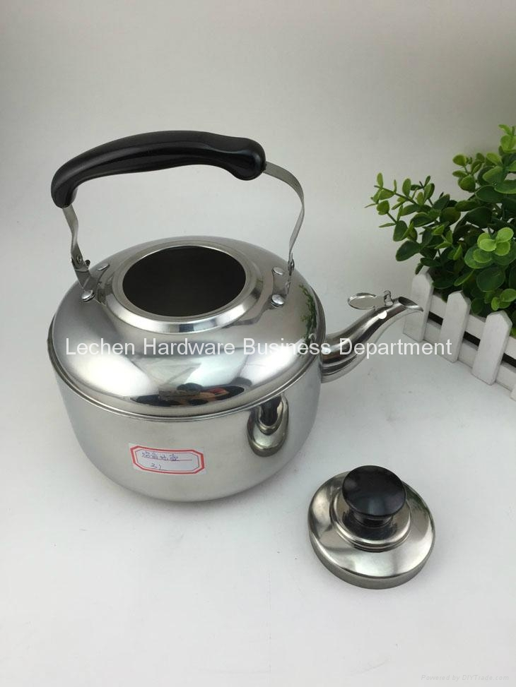 Stainless Steel Whistling Kettle Water Kettle Tea Pot 1L-10L 3