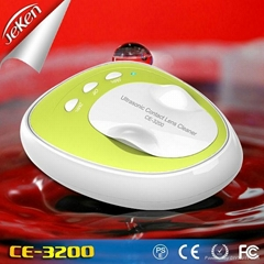 CE,FCC Cetified mini ultrasonic contact lens cleaner (Jeken CE-3200)