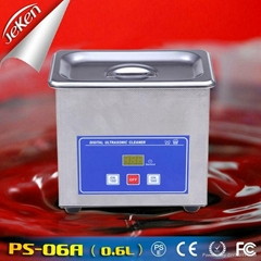 50W Best Used High Quality Portable Ultrasonic Jewelry Cleaner For Sale 0.6l (Je