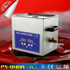 240W CE RoHS Approval Digital Ultrasonic Cleaner For Chemical Lab With Heater