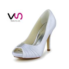 wrinkle upper bridal shoes