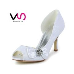crystal cinderella bridal shoes