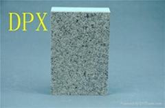 墙体安装硬质保温板隔热夹芯板