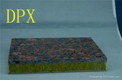 Sandwich insulation board rock wool with