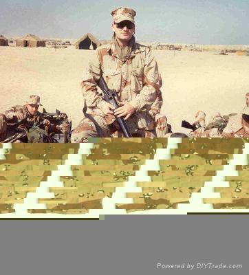 6-Color Desert Camouflage Military Uniform 1