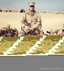 6-Color Desert Camouflage Military Uniform