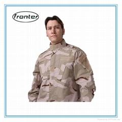 Wholesale 3-color desert camouflage uniform
