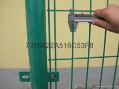 生產雙邊絲護欄網