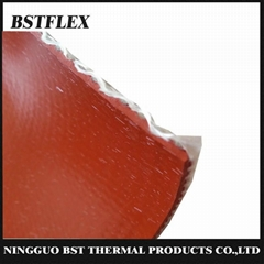 BSTFLEX Silicone Rubber Coated Fiberglass Cloth