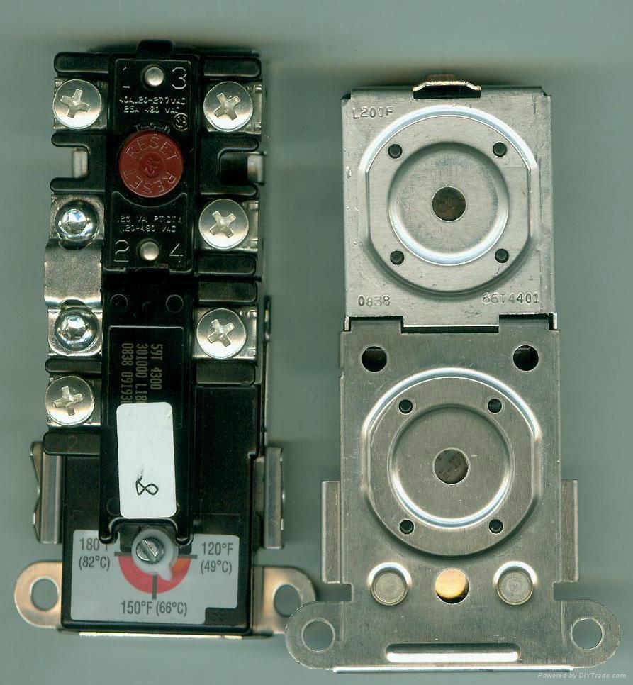 熱水器承壓水箱溫控開關防干燒限溫保護器59T66T 2