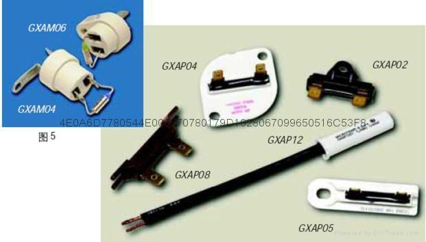 進口大電流艾默生溫度保險絲G8A01和G8A00系列熱熔斷器 2