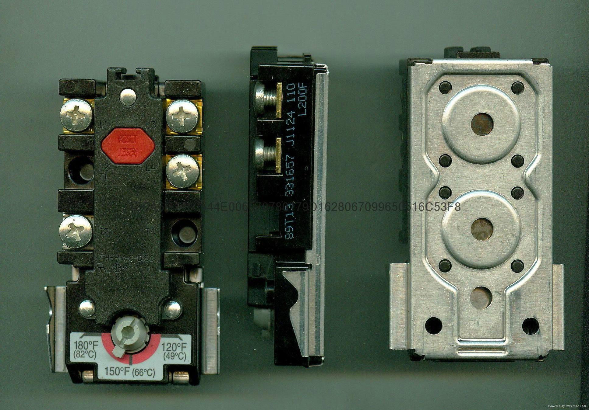 艾默生电热水器机械式温控限温开关89T系列 4