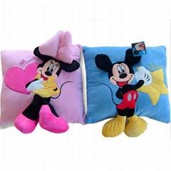 2015 promotional aniam plush square cushion