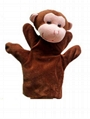 OEM deisgn Animal plush hand puppet toy