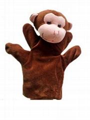 OEM deisgn Animal plush hand puppet toy