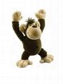 OEM high Quality custom plush stuffed monkey toys 2