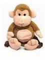 OEM high Quality custom plush stuffed monkey toys 3