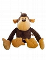 OEM high Quality custom plush stuffed monkey toys 4