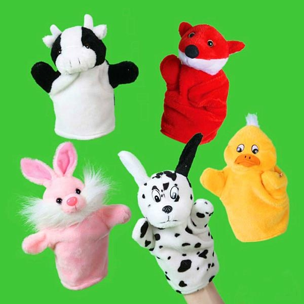 Plush soft promotion finger puppet toy 1
