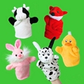 Plush soft promotion finger puppet toy