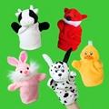Plush soft promotion finger puppet toy