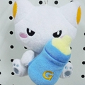 Cheap plush promotion gift toy keychain toy  2