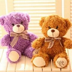 Plush soft valentines teddy bear toy