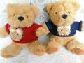 Plush soft valentines teddy bear toy 2