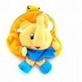 Soft plush animal backpack toy kids bag  2