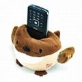 Plush phone holder 2